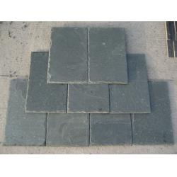 China Light Green Slate Roof Tiles Green Roofing Slate 400x200 400x250 500x250mm on sale
