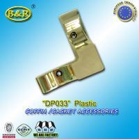 Casket hardware coffin accessories / coffin fittings DP033 plastico herraje para ataud size 10*10cm