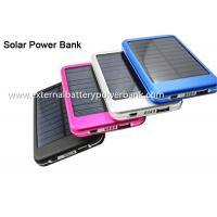 Portable Charger Mini Slim Solar Panel Power Bank 4000mAh 6000mAh