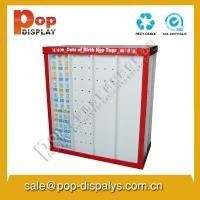 Greeting Card Cardboard Pallet Display Stands For Store Promotion