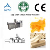 Automatic dog chews food processing line