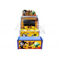 Fiberglass And Plastic Amusement Game Machines / Toddler Shooting Ball Out Prize Game Machine