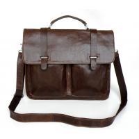 Wholesale Price Real Vintage Leather Men's Laptop Bag Messenger Bag #7013Q-2