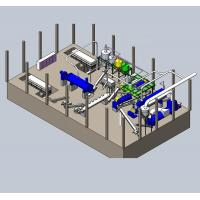 Industry Poultry Waste Rendering Plant / Animal Rendering Machine Cook Crush Process