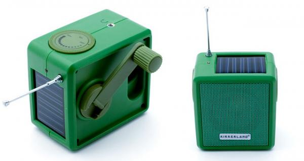 Solar Dynamo Radio With Cell Phone Charger Technology
