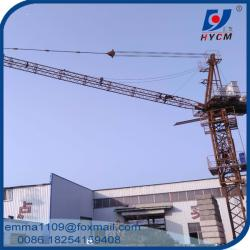 China D63 Jib Luffing Tower Crane 24m Boom 2.0t End Load and 6t Max. Load on sale