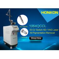 600mJ Q Switched Nd YAG Laser Tatoo Removal Machine For Ota's Nevus / Age Spot Removal Machine