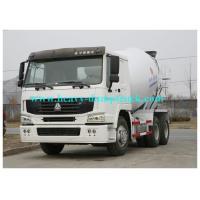Concrete mixer trailer 8 CBM tank 336 HP in white color with 300L Fuel Tank