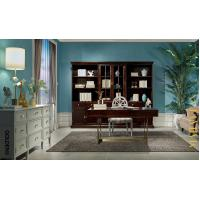 Leisure American style Study room furniture of Bookcase set with Cabinets and Office desk table