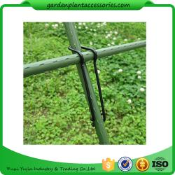 China Black Garden Plant Accessories Wire  Buckle Gardening Cross Pillar Connecting Pieces on sale