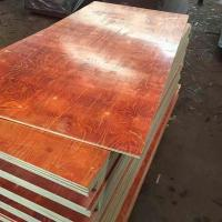 Waterproof Melamine Glue Red laminated Film faced plywood 2 time hot press