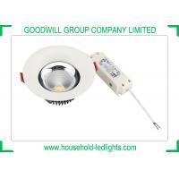 IP44 Degree COB LED Downlight 85 - 95lm/W Luminous Efficacy For Schools