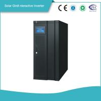 Smart Gird Interactive Solar Power Storage 3 Phase Inverter MPPT Solar Controller High efficiency   Power Backup