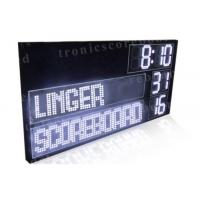 P16mm LED Football Scoreboard With White Color Digits Easy Maintenance