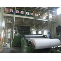 Shopping Bag PP Non Woven Fabric Making Machine Double Beams Spunbond