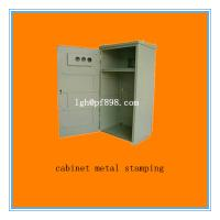 customized cabinet metal stamping china supplier for sale