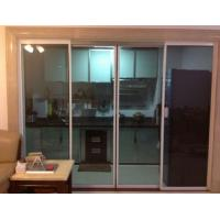 Balcony  room sliding access doors operator with induction opening and closing