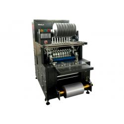 China Optional Layout smart Card making machine for laying magnetic stripe on plastic overlay on sale