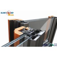 Windows Aluminium Extruded Profile 12 Micro Anodizing Thickness