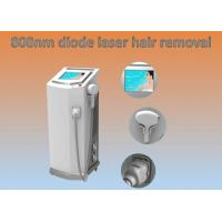 Professional 808nm Diode Laser Hair Removing Machine Long Life Span , 12*20mm Spot Size