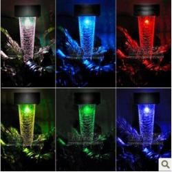 China 7 colors change colorful solar light ,yard light on sale