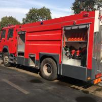 4x2 6-10 Cbm Special Purpose Truck Fast Moving Airport Fire Truck With PSP1600 Fire Pump