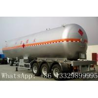 China famous leading bulk propane gas tank semitrailer for sale, hot sale best price lpg gas tank semitrailer for sale