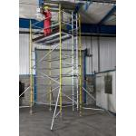 Lightweight Professional Aluminium Mobile Scaffold Flexibility Versatility For Inspecting Roof