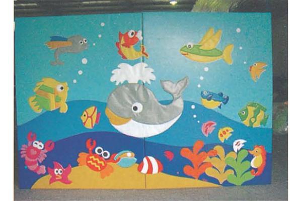 Parque infantil escalada pared mar mundo del diseño en el jardín ...