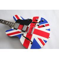 Custom shop ES335 union jack design electric guitar Free shipping