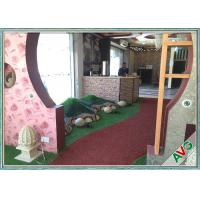 Special C Shape Soft Gentle Outdoor Artificial Grass Decoration Fake Turf