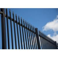 Metal Garrison Fencing panels 2100mm x 2400mm width