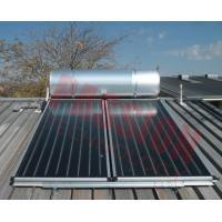 Pressurized Flat Plate Solar Water Heater Rooftop Intelligent Controller High Efficient