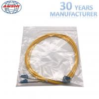 G652D Single Mode Optical Fiber Patch Cord LC - LC UPC Type 0.3dB Insertion Loss