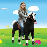 Magic Prince Beautiful High quality Riding Horse Toy