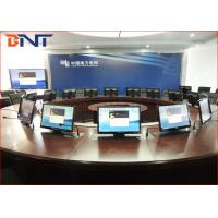 Commercial Meeting Table Motorized Pop Up Lift For 19 - 24 Inch LCD Screen
