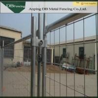 Heavy Duty Temporary Hoarding Fence , Galvanized Steel Temporary Yard Fence