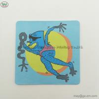 Square Absorbent Paper Coaster Bar Cafe Restaurant Paper Coasters Waterproof heat insulation decoration recycling paper
