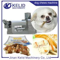High capacity overseas engineers pet chew treats machine