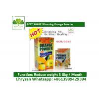 Fast Reduce Weight Loss Fruit Juice Private Label Orange Slim Tea No Side Effect