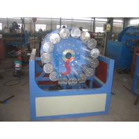 Hose Making Machine PVC Pipe Extrusion Line , Fiber Hose Pipe Making Machine