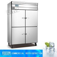 4 door upright restaurant kitchen equipment kitchen refrigerator storage cabinet