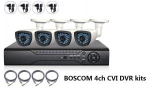 4CH 720P HD CCTV DVR Recorder Real-time Recording / Playback