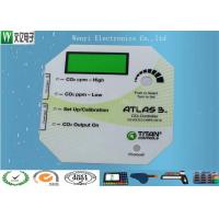 Gradual Color 0.125mm  Flat Glossy Anti-UV Polyester  Membrane Switch Transluent LCD Window Overlay