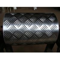 Bus / Boat Aluminium Checker Plate , Alloy 5083 Aluminum Diamond Plate ASTM Standard