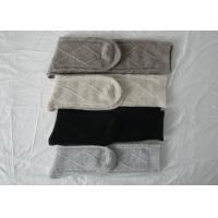 Breathable Cotton Knee High Tube Socks / Black Women's Knee High Dress Socks