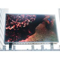 Full Color Advertising RGB LED Display Board For Public Square , Meanwell Power Supply