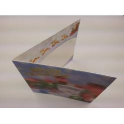 China Lenticular Printing Services offset printing 3D greeting card in 0.38mm PP plastic on sale