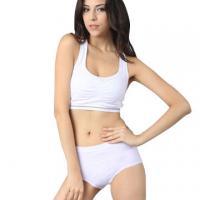 Ladies' seamless fashion sports bra sets