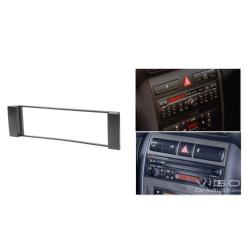 China 1 Din Car Radio Fascia For AUDI A3 A6 SEAT Toledo Leon FIAT Scudo CD Facia Trim Kit 11-034 on sale